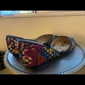 Sam Edelman Shoes - Sam Edelman Rodney Multi Floral Lace Flats